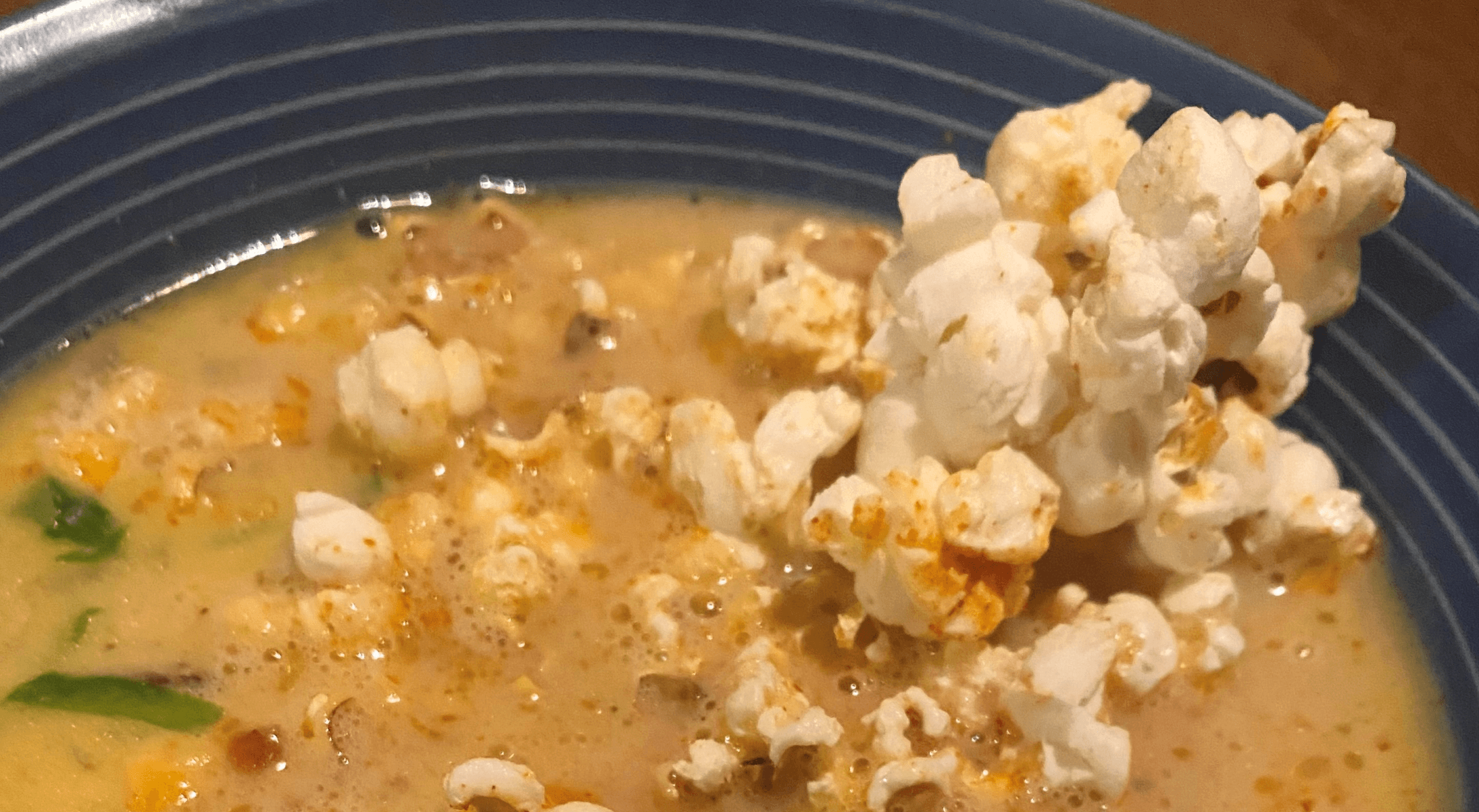 Recipe: Popcorn & Beer Cheese Soup