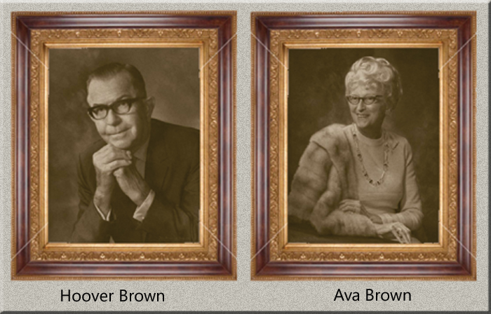 Hoover and Ava Brown